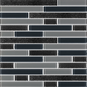 Leonids Black - Glass Tiles