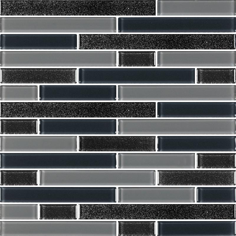 Leonids Black - Glass Tiles