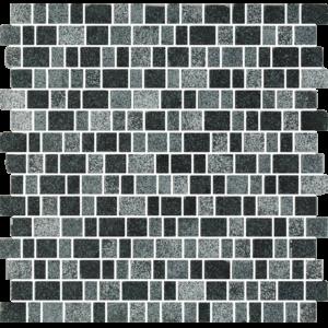 Tuscany Nero Matt - Glass Tiles