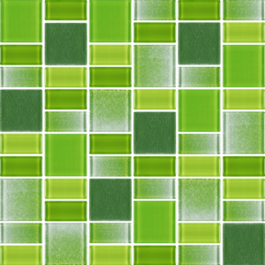 Fusion Green - Glass Tiles