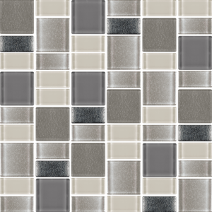 Fusion Platinum Perla - Glass Tiles