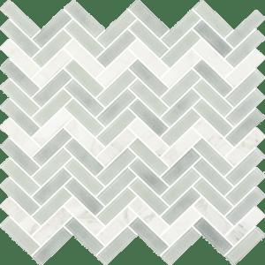 Alps Bianco - Glass Tiles