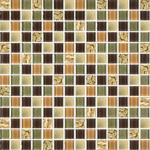 Prince Golden Oak - Glass Tiles