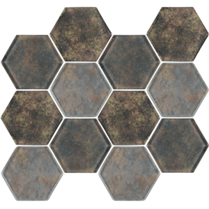 Asgard Rusty Black - Glass Tiles