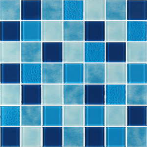 Caribbean Similan Blue Glass Tiles