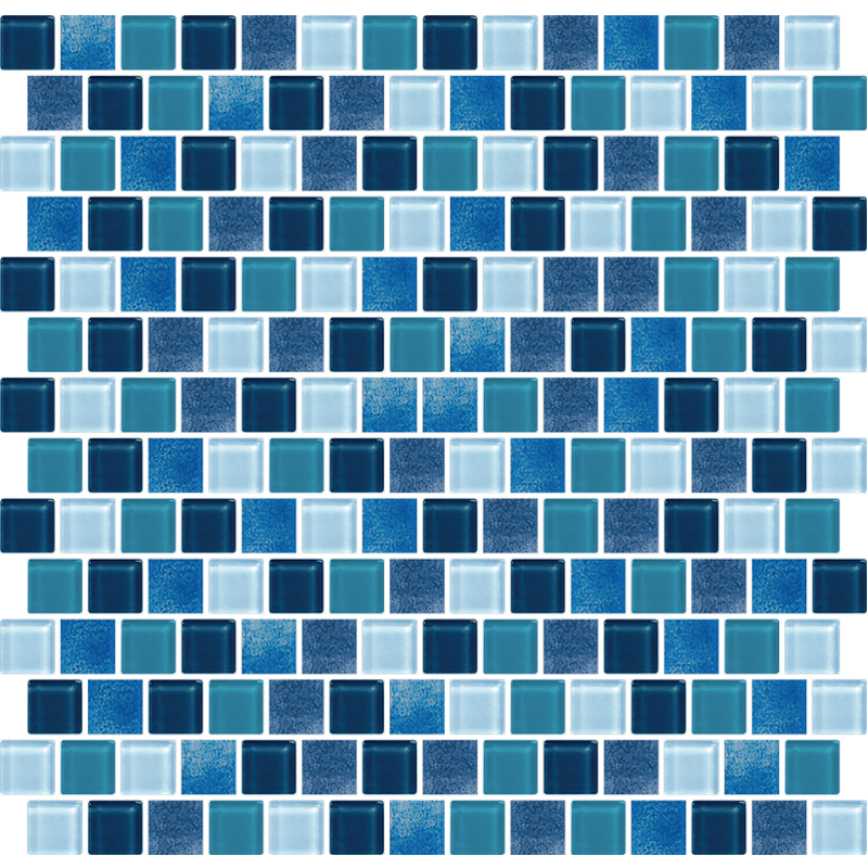 Phuket Blue Glass Tiles
