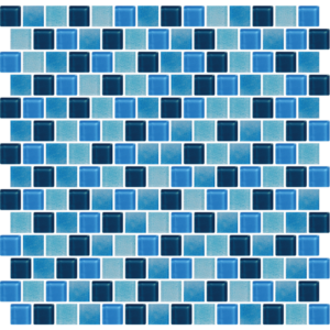 Phuket Similan Blue Glass Tiles