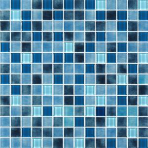 Hudson Bay Dark Blue Glass Tiles