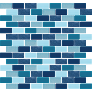 Phi Phi Blue Glass Tiles