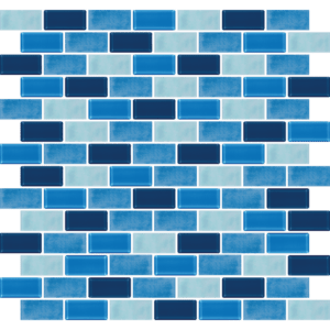 Phi Phi Similan Blue Glass Tiles