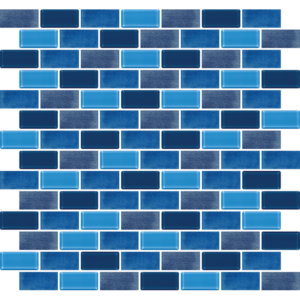 Phi Phi Dark Blue - Glass Tiles