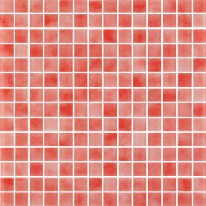 Glass Tiles-Powder Red