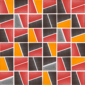 Molen Orange - Glass Tiles