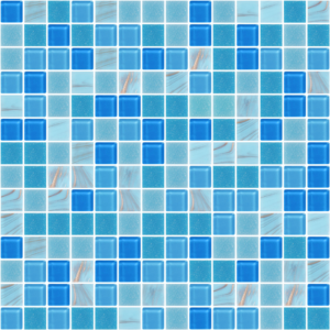Aden Blue Glass Tiles