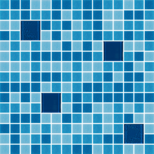 Glass Tiles-Cocktail Blue Margarita