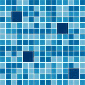 Glass Tiles-Cocktail Blue Margarita