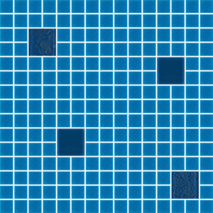 Cocktail Blue Lagoon Glass Tiles