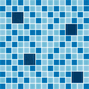 Glass Tiles-Cocktail Sexy Blue