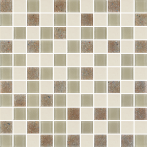 Quad Avorio - Glass Tiles