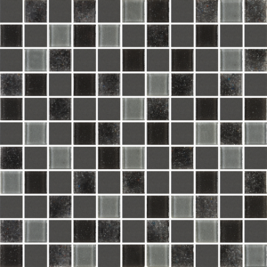 Quad Nero - Glass Tiles