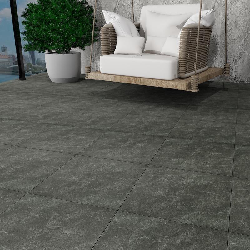 Strata Onyx Grip 400x400 - Ceramic Tiles | IMEX - Inspired the living