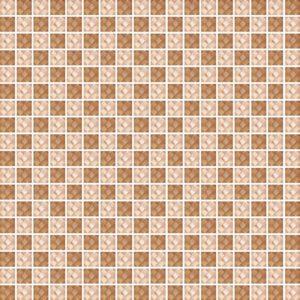 Diamond Check Brown - Glass Tiles