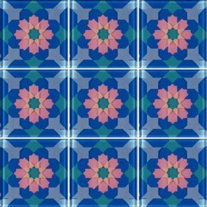 MQ1-2 Blue - Glass Tiles