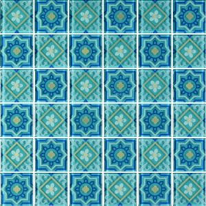 MQ4-8 Green - Glass Tiles
