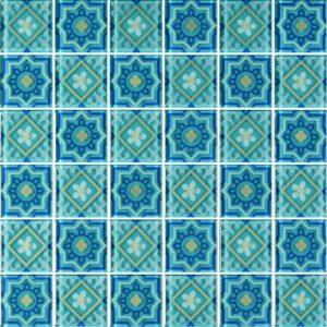MQ4-8 Green - Glass Tiles
