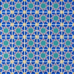 MQ5-10 Blue - Glass Tiles