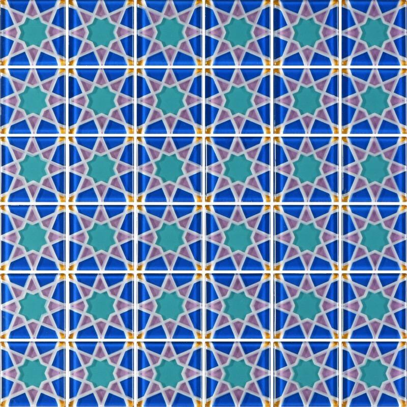 MQ5-10 Blue - Glass Tiles