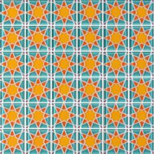 MQ5-11 Orange - Glass Tiles