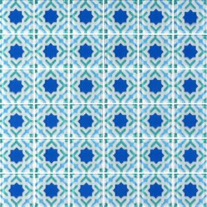 MQ6-12 Blue - Glass Tiles