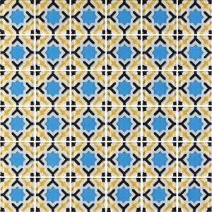 MQ6-13 Yellow - Glass Tiles