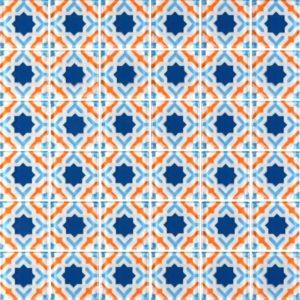 MQ6-14 Orange - Glass Tiles