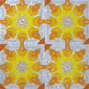 PATTERN 02 - Mosaic Art - Glass Tiles