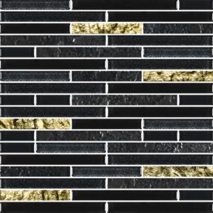 Charms Black Gold - Glass Tiles