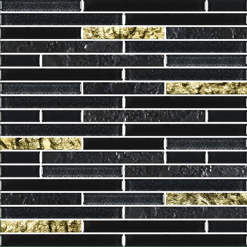 Charms Black Gold Gl Tiles
